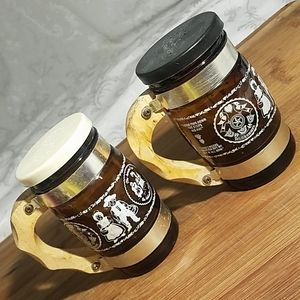 Vintage German Souvenir Keg Salt and Pepper Shaker